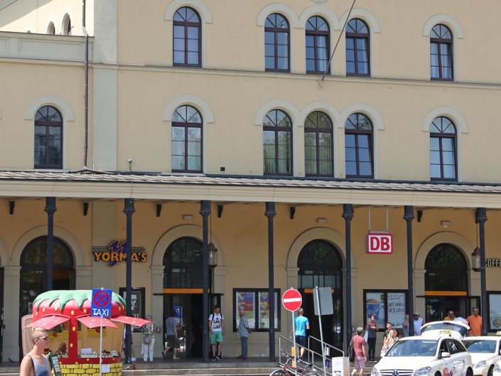 Neubau/Umbau Mobilitätsdrehscheibe (MDA) Hauptbahnhof Augsburg